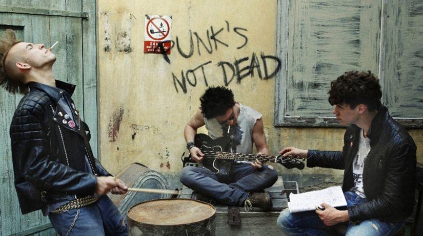 Vo filme DonT Stop vznikne punková kapela Emile...