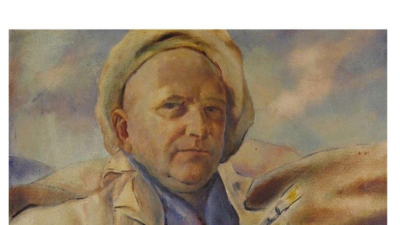Július Flache: Autoportrét