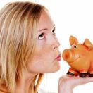 sporenie, vklad, termínovaný, úrok, prasiatko