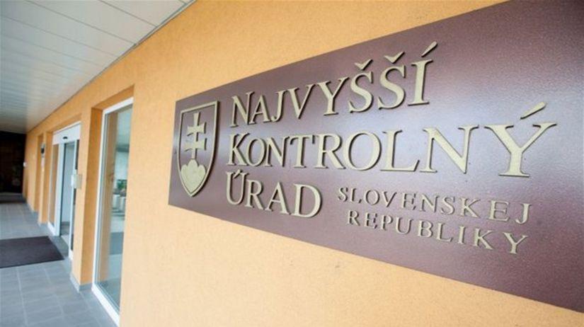NKÚ, Najvyšší kontrolný úrad