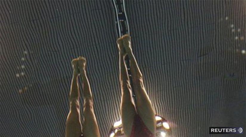 OH 2012, synchronizované plávanie, voda
