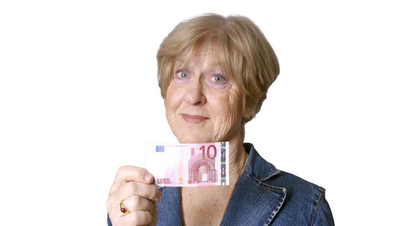 dôchodca, dôchodkyňa, dôchodok, penzia, euro