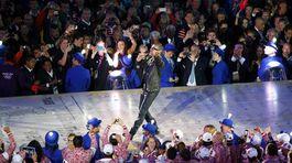 OH Londýn, záverečný ceremoniál, George Michael