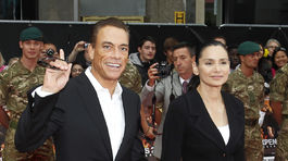 Jean-Claude Van Damme a jeho manželka Gladys Portugues