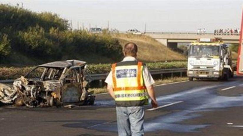 nehoda, Maďarsko, Rezešová