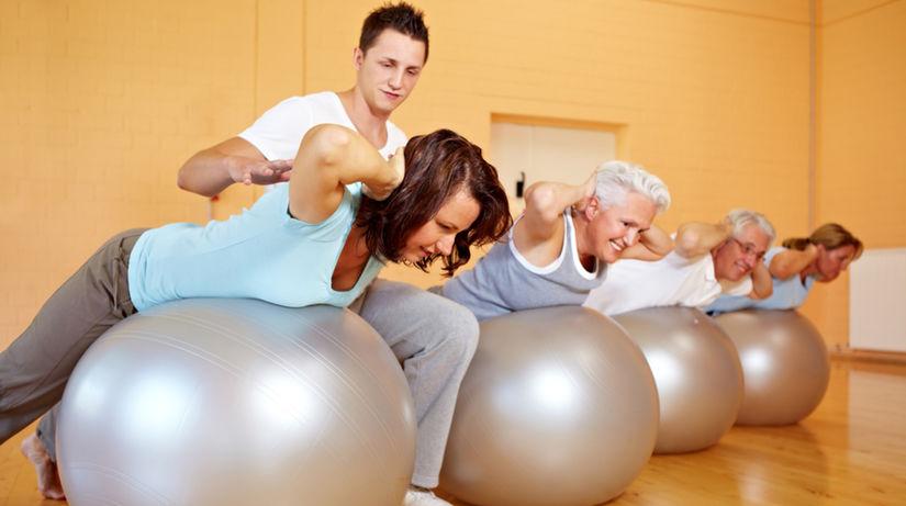 chrbát, fitnes, cvičenie, fit lopta