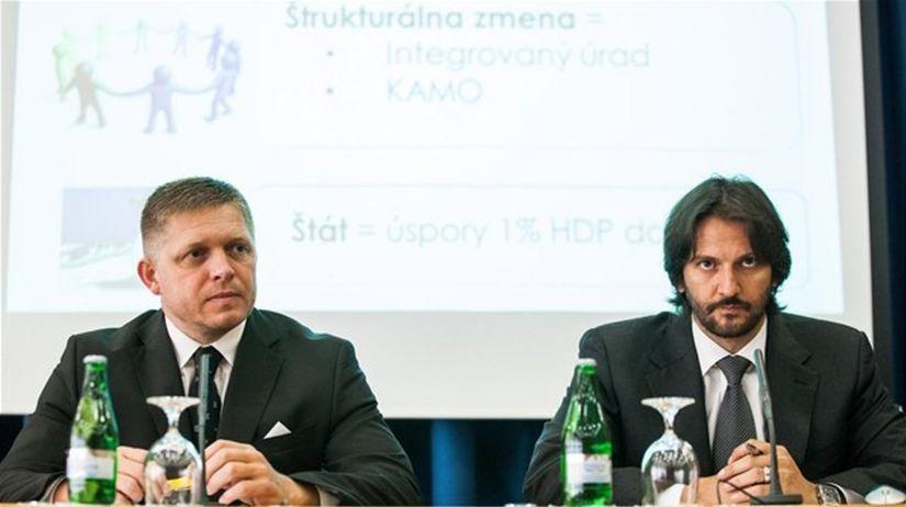Robert Fico, Robert Kaliňák, ESO