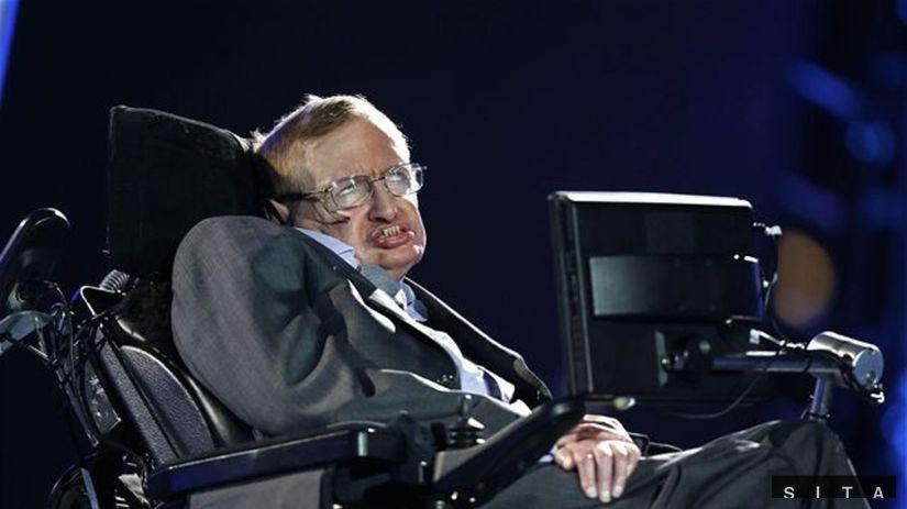 paralympida Stephen Hawking