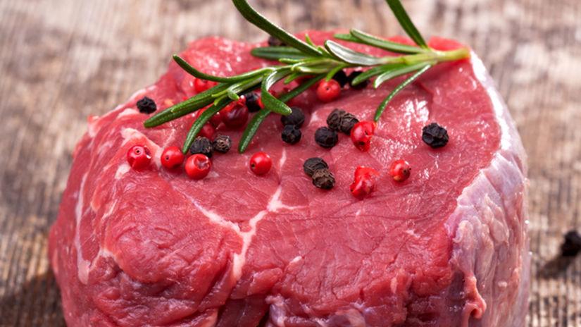 mäso, hovädzie, mäsiar, steak