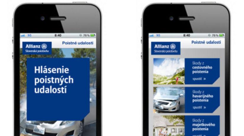 Allianz - iphone