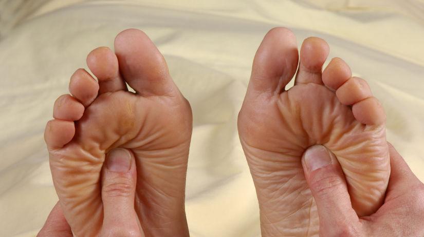 masáž reflexných zón
