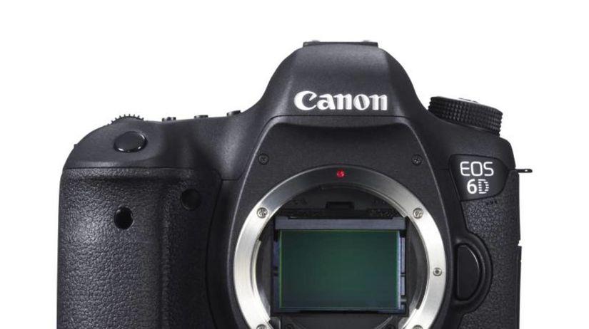 Canon EOS 6D, zrkadlovka