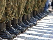 armáda, topánky