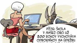 Vzrušujúce karikatúra porno
