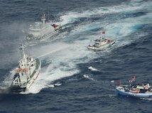 Taiwan, Japonsko, lode, sporné ostrovy