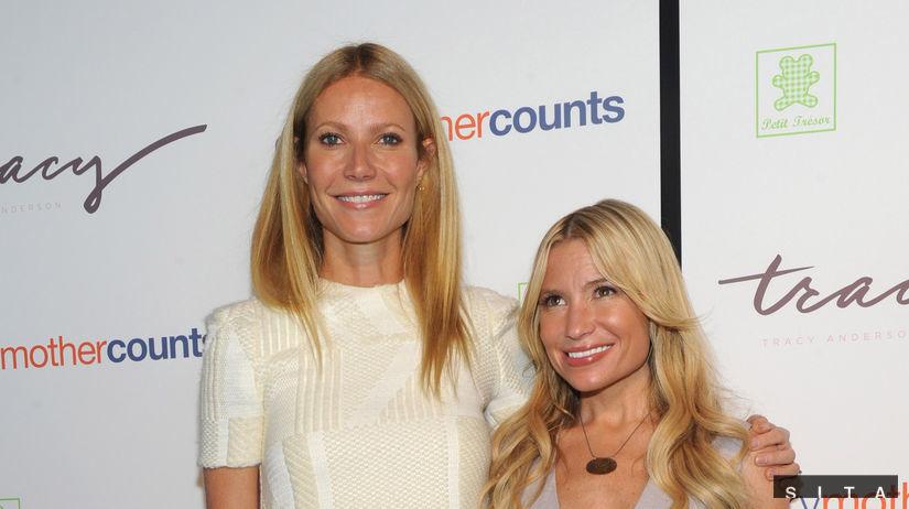 Gwyneth Paltrow (vľavo) a jej osobná trénerka...