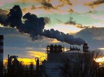 emisie, smog, fabrika