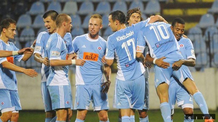 Slovan - Košice, radosť Slovan
