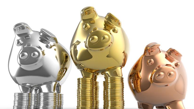 sporenie, vklad, prasiatko, úspory