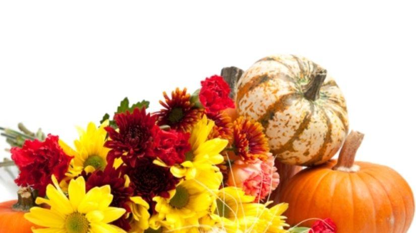 Farebná jeseň na terase