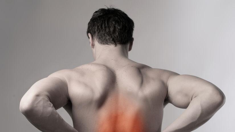 chrbát - bolesť - bolesť chrbta