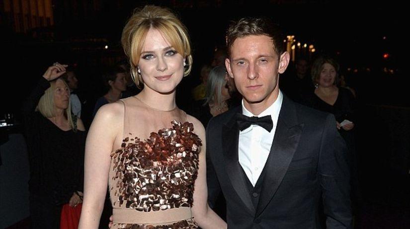 Herečka Evan Rachel Wood a jej manžel Jamie Bell.