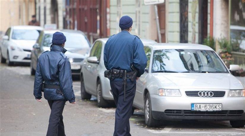 mestskí policajti