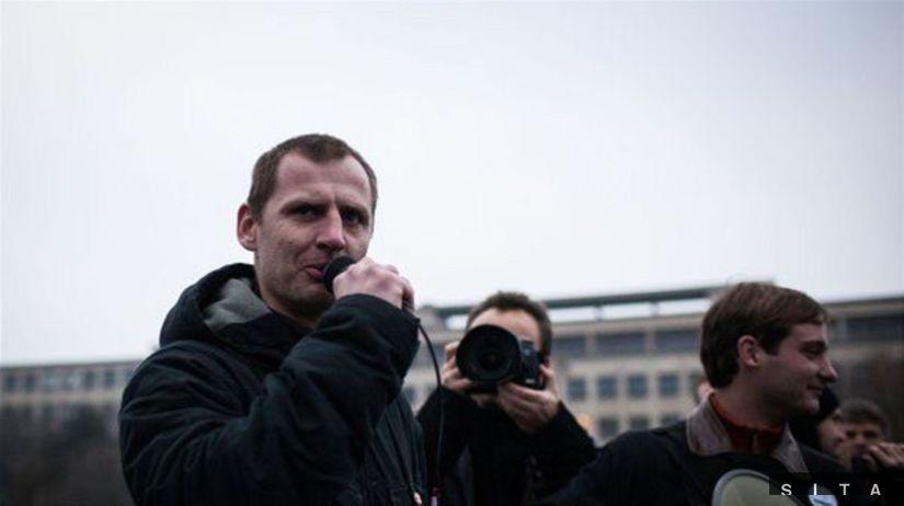 protest, 17. november 2012, Bratislava