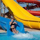 bazén, kúpanie, tobogan, leto, plávavnie, kúpalisko