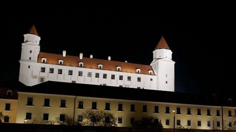 Bratislavský hrad, osvetlenie