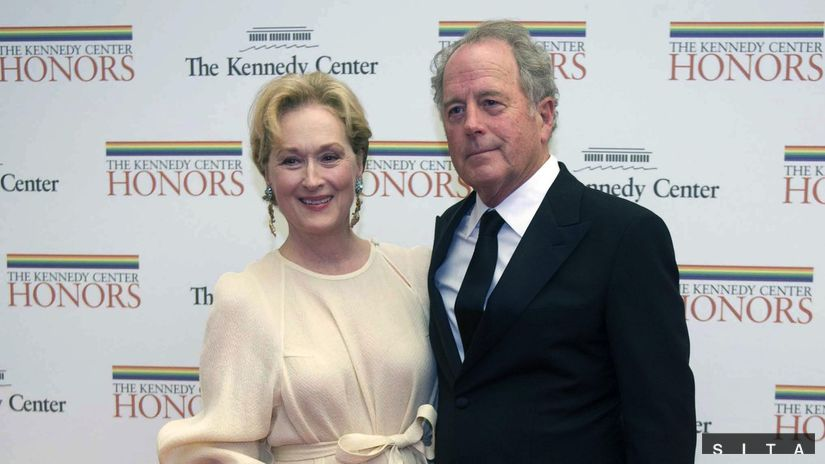 Meryl Streep a jej manžel Don Gummer