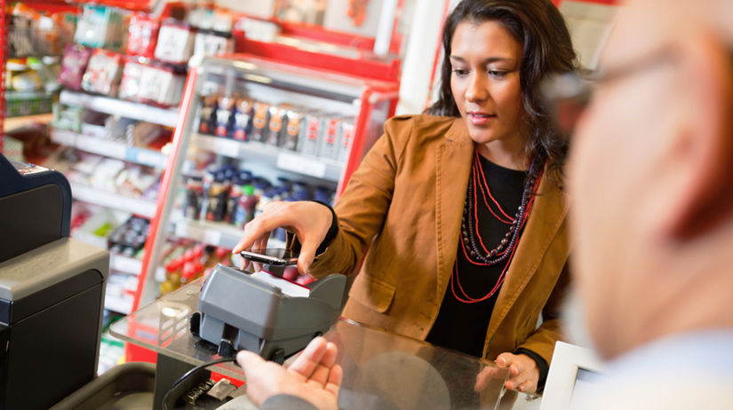 mobil, platba, nákup, karta