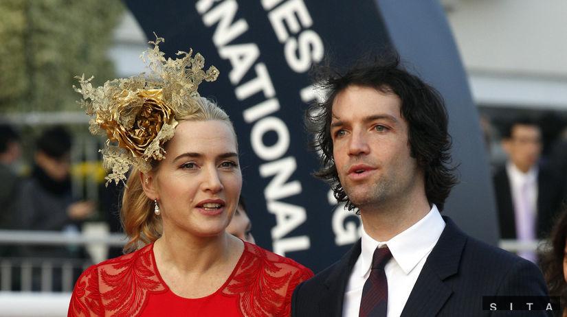 Kate Winslet a jej priateľ Ned Rocknrolla