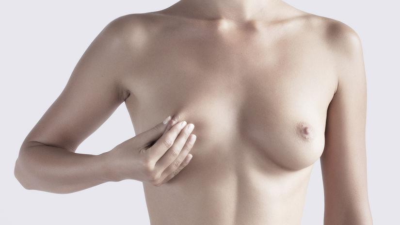 samovyšetrenie prsníkov