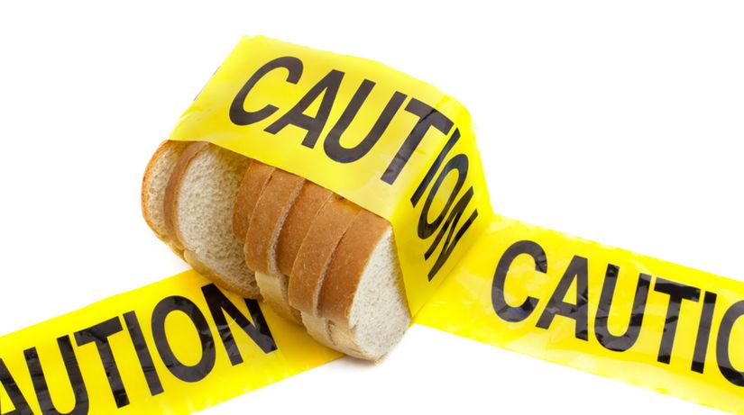 celiakia - nemožnosť jesť pečivo