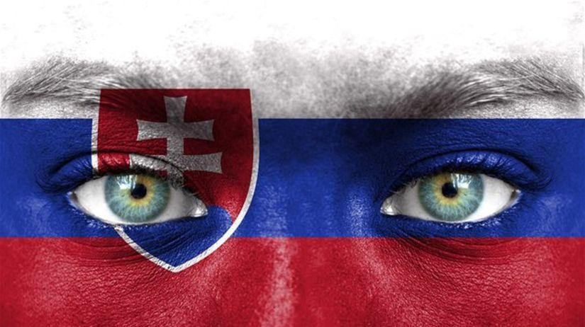 Slovensko, Slováci, vlajka