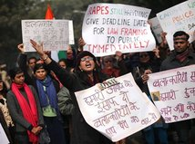 India, protest