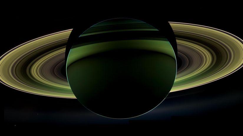 Saturn, Planéty, Sonda, Cassini