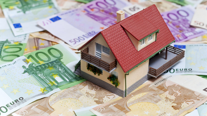 hypotéka, stavebné, sporenie, úver, daň,...