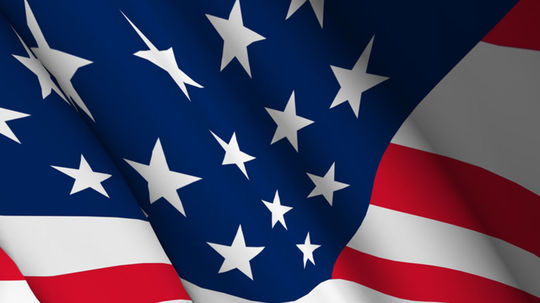 USA, zástava, vlajka, Spojené štáty