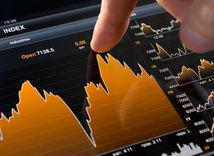 Peniaze, graf, burza, ekonomika, euro, dolár, trh