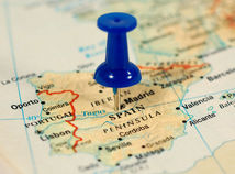 Španielsko, mapa, Madrid