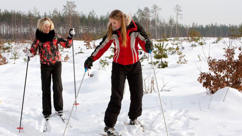 šport, lyže, beh na lyžiach, bežky