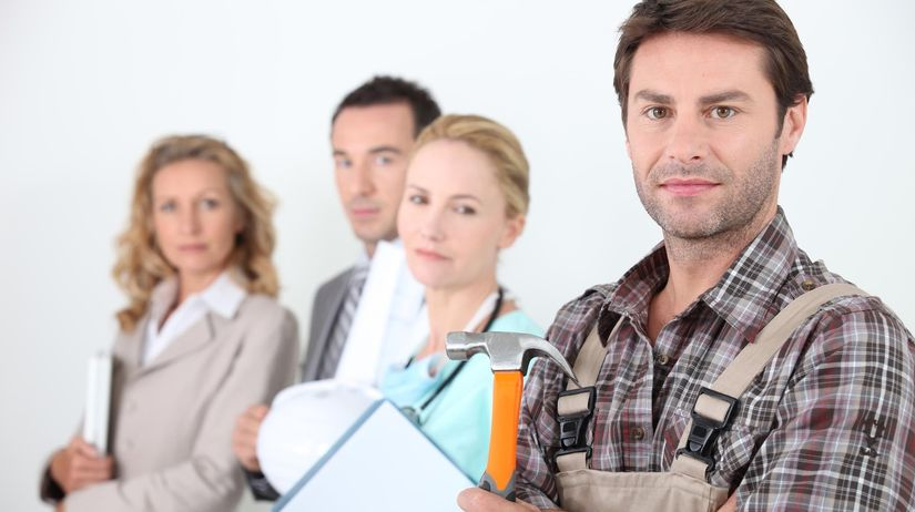 ľudia, zamestnanie, práca, profesia