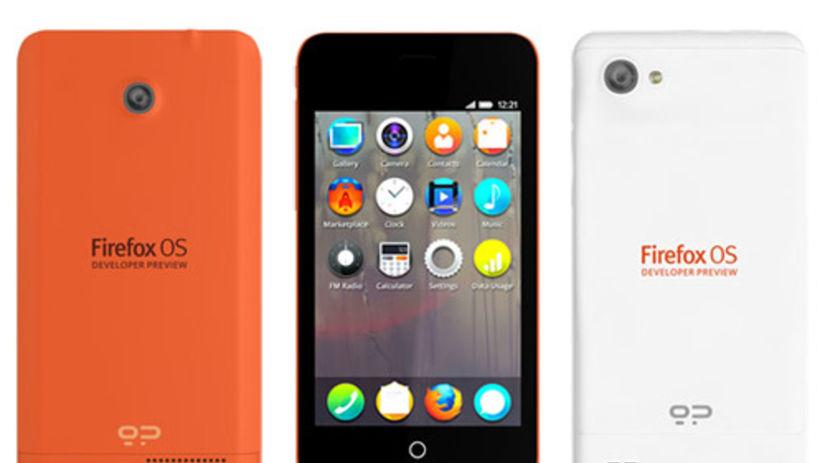 geeksphone, Firefox OS, smartfón Keon, Peak