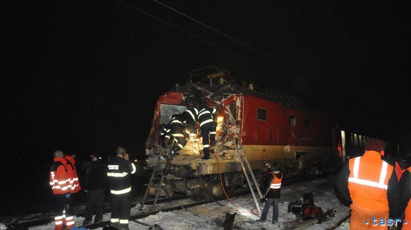 vlak, zrážka