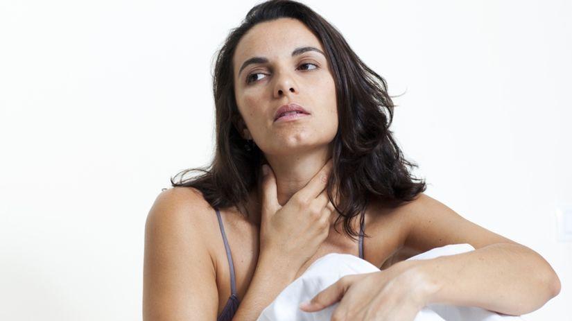 štítna žľaza - problém - choroba štítnej žľazy