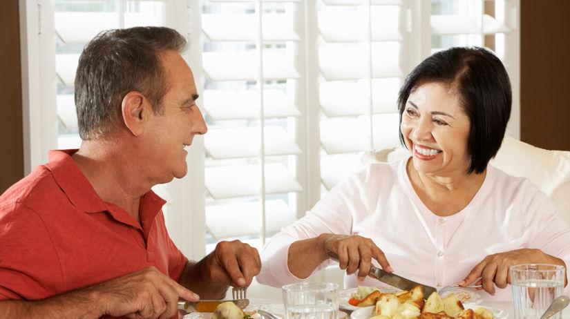 dvojica - manželia - stravovanie - zdravšie...