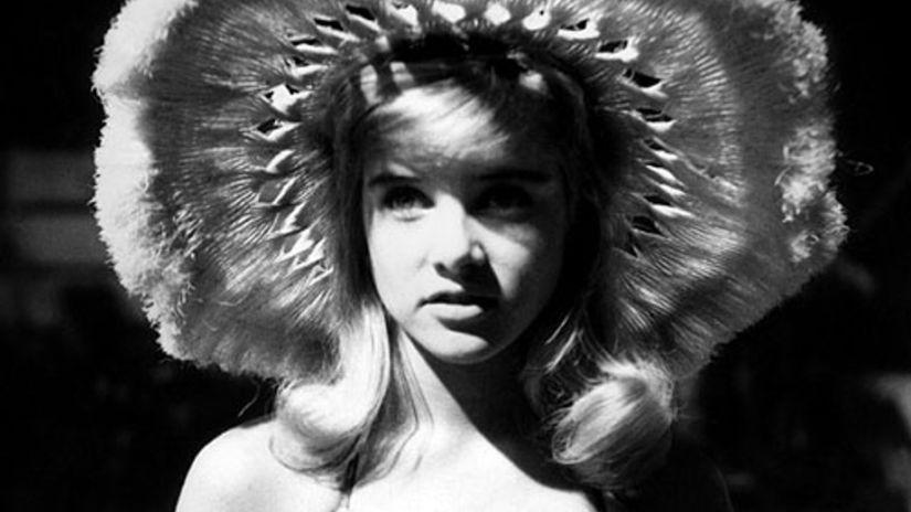 Sue Lyonová ako Lolita vo filmovej adaptácii...
