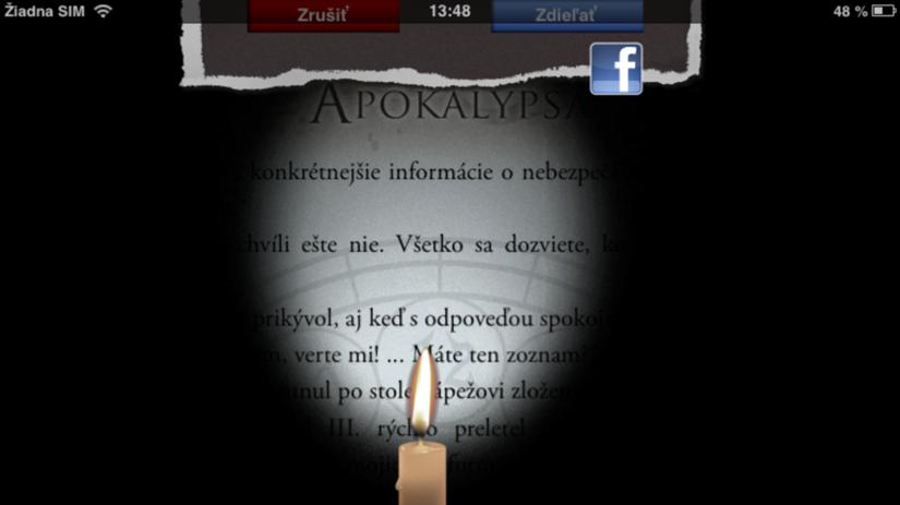 Mario Giordano - Apokalypsa. Screen sviečka